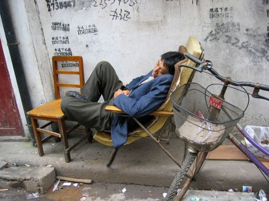 01 40x50 2008.04.19. Shanghai Old Town